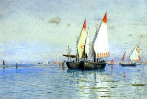 William Stanley Haseltine - barcos de pesca Veneza