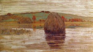 Arthur Wesley Dow - flood tide , Ipswich Pântanos , Massachusetts