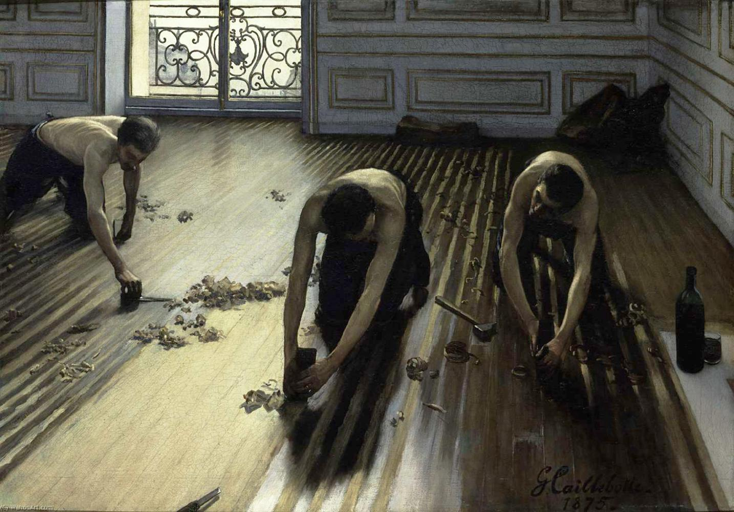 * une toile sur la toile * - Page 9 Gustave_Caillebotte-The_Floor_Scrapers_also_known_as_The_Floor_Strippers_