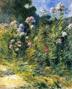 John Henry Twachtman - The Flower Garden