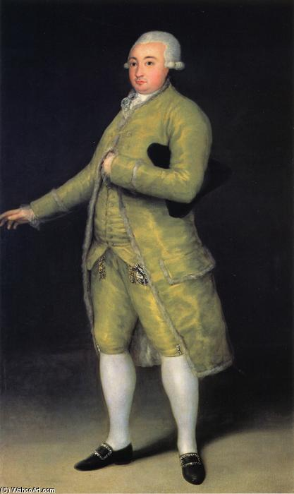 Francisco de Cabarrus, óleo sobre tela por Francisco De Goya (1746-1828, Spain)