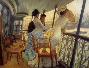 James Jacques Joseph Tissot - a galeria of h . M . De . Calcutta
