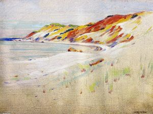 Arthur Wesley Dow - Gay Head, Martha Vineyard