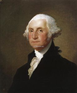 Gilbert Stuart - George WASHINGTON 8