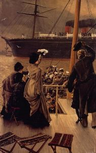 James Jacques Joseph Tissot - Goodby, no Mersey