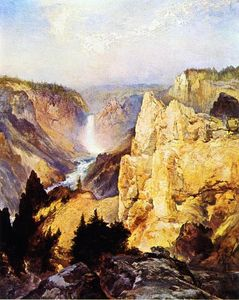 Thomas Moran - grand canyon de `yellowstone
