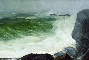 George Wesley Bellows - o cinza mar