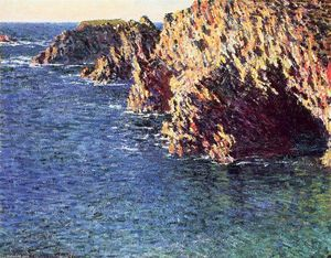 Claude Monet - A Gruta de Port-Domois
