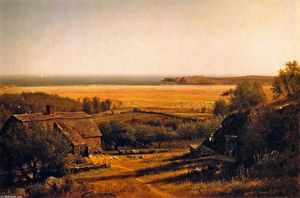 Thomas Worthington Whittredge - casa pelo mar