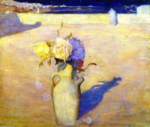 Charles Edward Conder - O Hot Sands, Mustapha