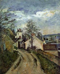 Paul Cezanne - The House of Dr. Gached em Auvers