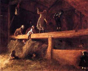 Jonathan Eastman Johnson - No Hayloft