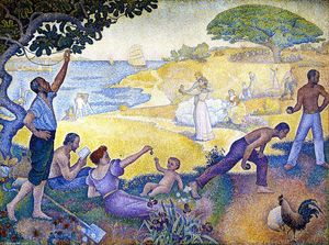 Paul Signac - Na Hora do Harmony