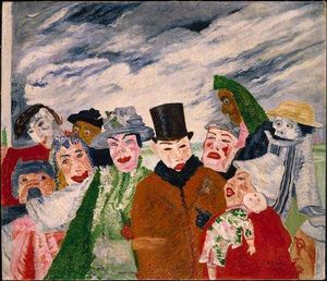 James Ensor - A intriga