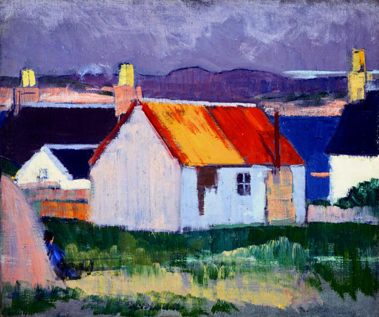 Iona, 1920 por Francis Campbell Boileau Cadell (1883-1937)