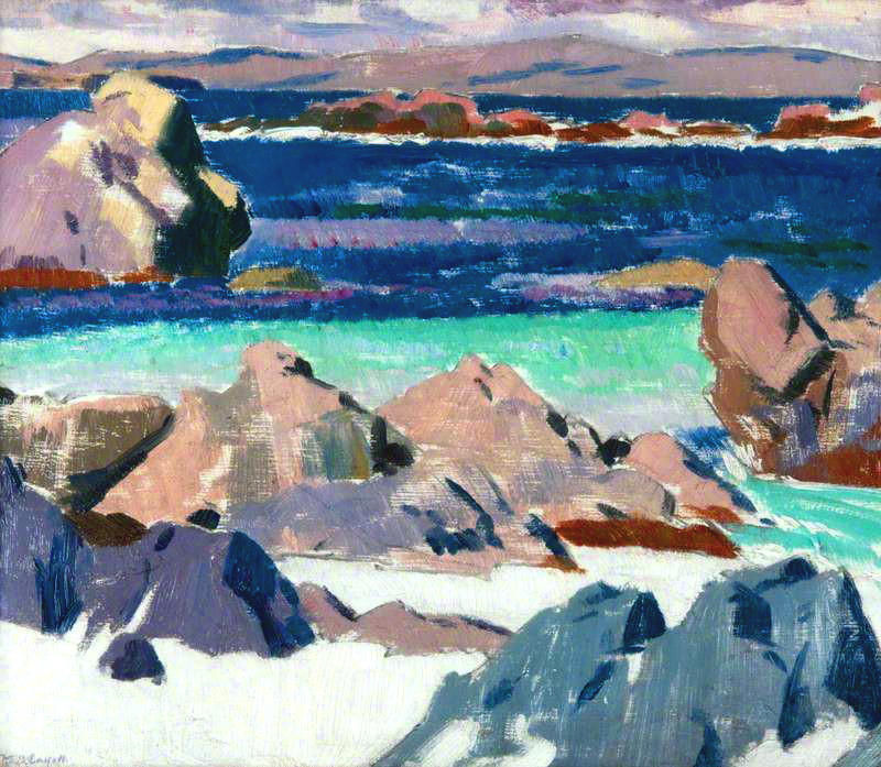 Iona, North End, 1923 por Francis Campbell Boileau Cadell (1883-1937)