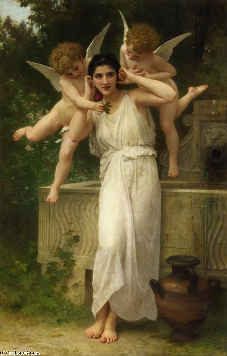 Jeunesse, óleo sobre tela por William Adolphe Bouguereau (1825-1905, France)