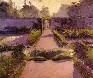 Gustave Caillebotte - A horta, Yerres