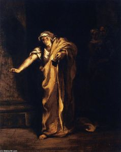 Eugène Delacroix - Lady Macbeth Sleepwalking
