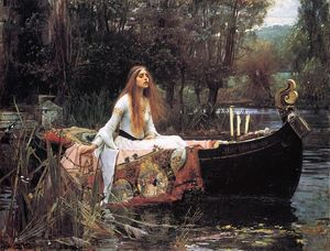 John William Waterhouse - A senhora de Shalott