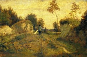 William Morris Hunt - paisagem