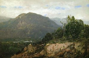 William Louis Sonntag - paisagem