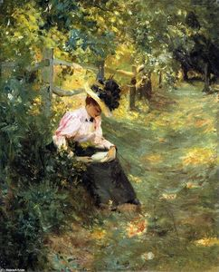 Theodore Robinson - The Lane