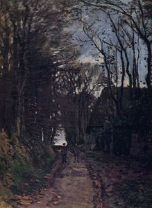 Claude Monet - Lane em Normandy