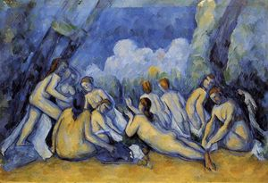 Paul Cezanne - As Grandes Banhistas