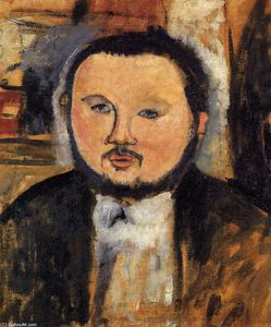 Amedeo Modigliani - Retrato de Diego Rivera