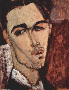 Amedeo Modigliani - Retrato de Celso Lagar