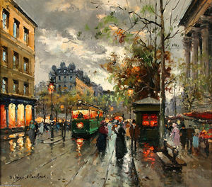 Antoine Blanchard (Marcel Masson) - Local da Madeleine