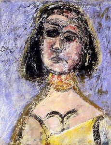 Arshile Gorky - Mulher com colar Marquette