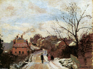 Camille Pissarro - Lower Norwood