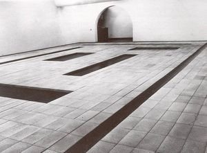 Carl Andre - 8 cortes
