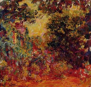 Claude Monet - o Artist-s Casa do rose jardim