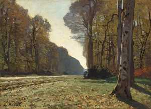Claude Monet - O Pave de Chailly