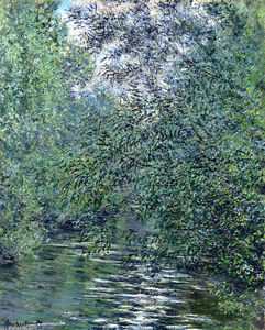 Claude Monet - o `willows` à rio
