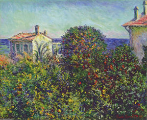 Claude Monet - Bordighera , a casa of Jardineiro