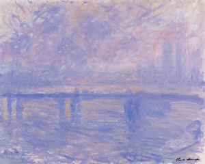 Claude Monet - Charing Cross Ponte 09