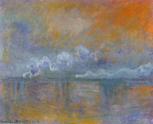 Claude Monet - Charing Cross Ponte 02