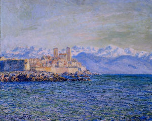 Claude Monet - The Old Fort em Antibes