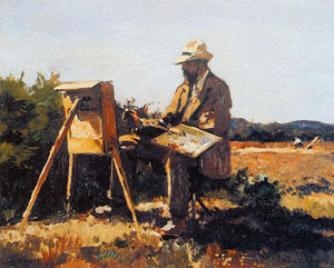 Cornelis Vreedenburgh - Pintor Jan Bakker At Work