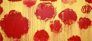 Cy Twombly - Untitled (Peónia série)