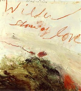 Cy Twombly - Mais Selvagem