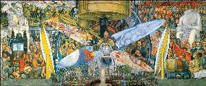 Diego Rivera - Homem no Crossroads/Man , controlador do univers