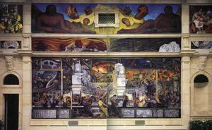 Diego Rivera - indústria de detroit , north wall