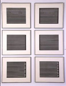 Donald Judd - Seis aquatints