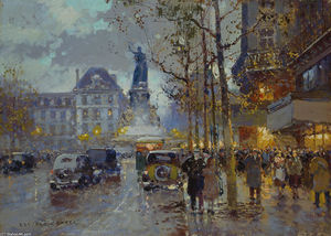 Edouard Cortes - Local da Republique