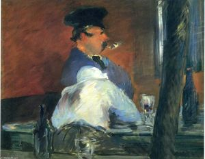 Edouard Manet - No bar Le Bouchon